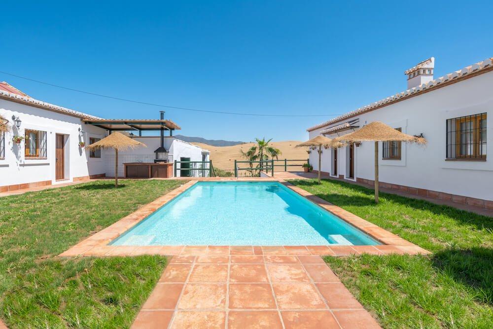 pool hacienda paradiso spain eco rehab